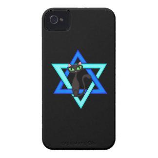 Jewish Cat Stars iPhone 4 Cover