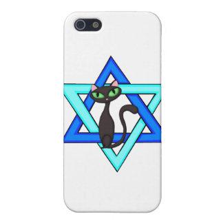 Jewish Cat Stars iPhone 5/5S Covers