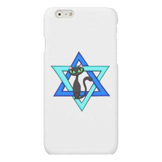 Jewish Cat Stars Matte iPhone 6 Case