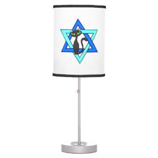 Jewish Cat Stars Lamp