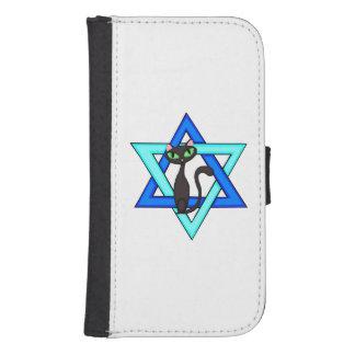 Jewish Cat Stars Phone Wallet Cases