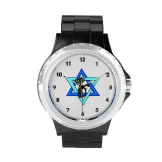Jewish Cat Stars Watches