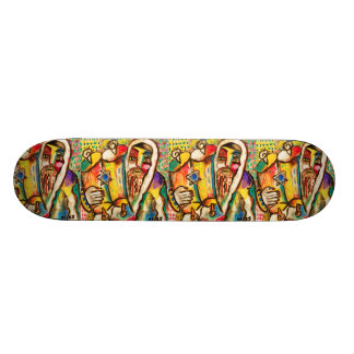 Jewish Celebration Skateboard - Torah