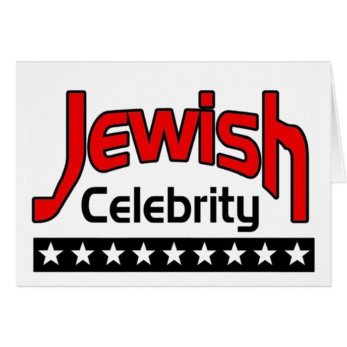 Jewish Celebrity Card