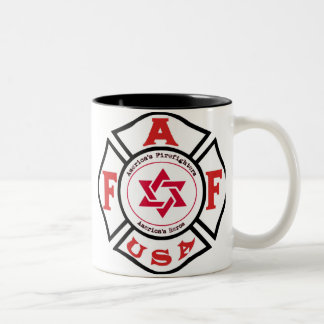 Jewish Firefighters LIGHT Coffee Mug