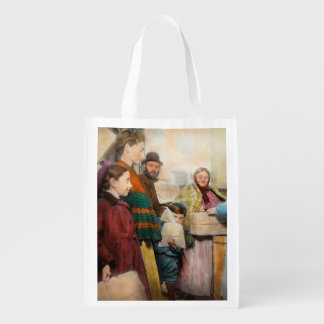 Jewish - Food for the less fortunate 1908 Reusable Grocery Bag