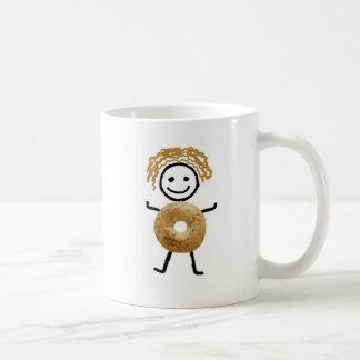 Jewish Gift Coffee Mug-Bagel Kid Coffee Mug