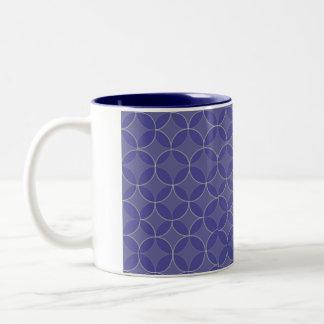 Jewish Gift Coffee Mug-Kabbalah Two-Tone Coffee Mug