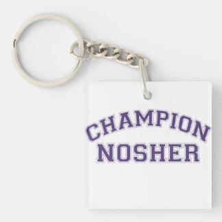Jewish Gift-Key Chain-Nosher Keychain