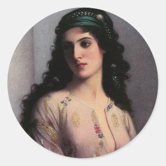 Jewish Girl Of Tangiers Stickers