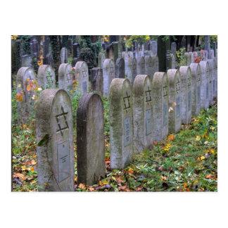 Jewish Graves At Zentralfriedhof Postcard