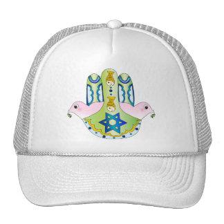 Jewish Hamsa Mesh Hat