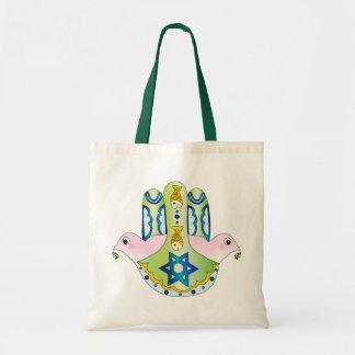 Jewish Hamsa Tote Bag