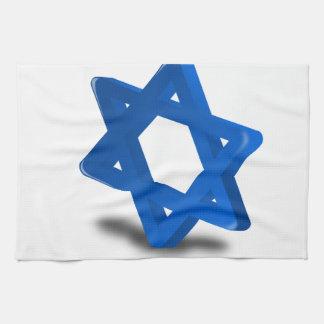 jewish hanukkah holiday religion hand towel