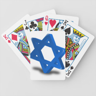 jewish hanukkah holiday religion bicycle poker cards