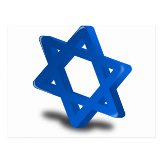 jewish hanukkah holiday religion postcard