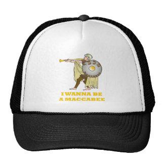 JEWISH HANUKKAH MACCABEE HAT