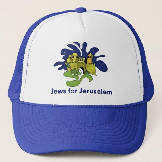 JEWISH HAT JEWS FOR JERUSALEM