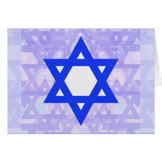 Jewish Heritage the Star of David Card