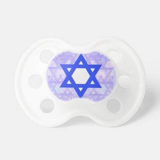 Jewish Heritage the Star of David Pacifier