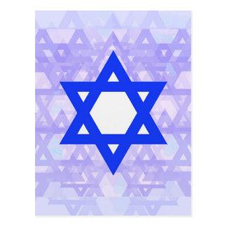 Jewish Heritage,... the Star of David. Postcard