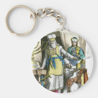 Jewish High Priest from before the time of Christ Keychain