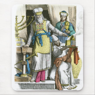 Jewish High Priest from before the time of Christ Mouse Pad