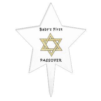 Jewish Holiday Celebrations Cake Topper