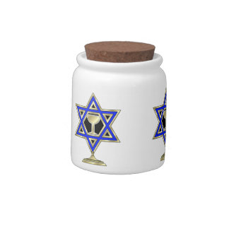 Jewish Holiday Celebrations Candy Dish