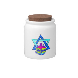 Jewish Holiday Celebrations Candy Jars