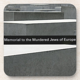 Jewish Holocaust Memorial (Denkmal), Berlin, Sign Coaster