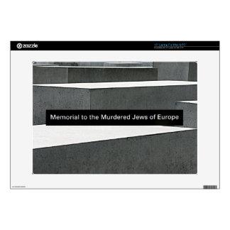 """Jewish Holocaust Memorial (Denkmal), Berlin, Sign Skin For 15"""" Laptop"""