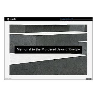 """Jewish Holocaust Memorial (Denkmal), Berlin, Sign 17"""" Laptop Skins"""