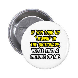 Jewish In Dictionary...My Picture Button