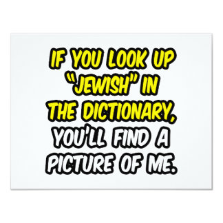 Jewish In Dictionary...My Picture Card