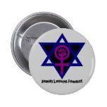 Jewish.Lesbian.Feminist Pinback Buttons