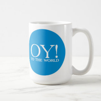 Jewish Lg. Mug - Oy! to the World