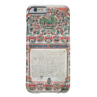 Jewish Marriage Contract (vellum) iPhone 6 Case