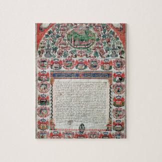 Jewish Marriage Contract (vellum) Puzzle