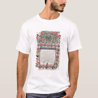 Jewish Marriage Contract (vellum) T-Shirt