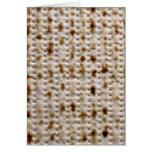 Jewish Matzo Card