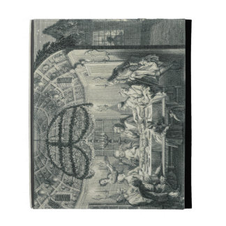 Jewish Meal During the Feast of the Tabernacles, i iPad Case