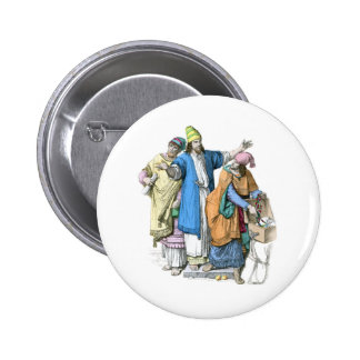 Jewish men from before the time of Christ Button