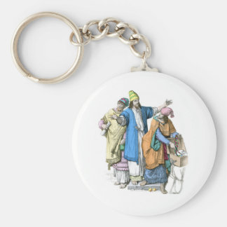Jewish men from before the time of Christ Keychain