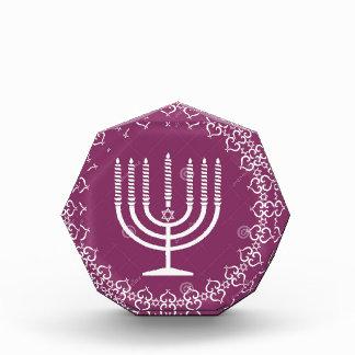 jewish-menorah-holiday-vector-background-27207795. acrylic award