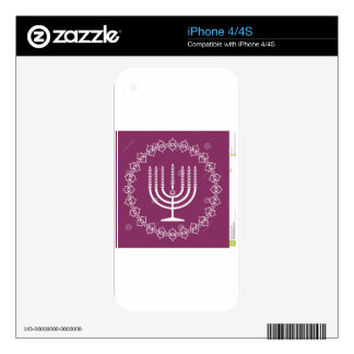 jewish-menorah-holiday-vector-background-27207795. decals for iPhone 4S
