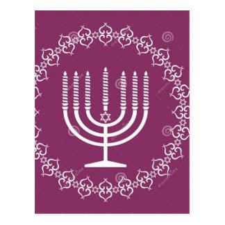 jewish-menorah-holiday-vector-background-27207795. postcard