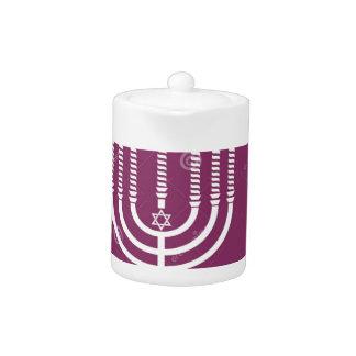 jewish-menorah-holiday-vector-background-27207795. teapot