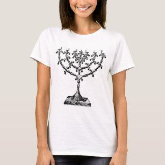 Jewish menorah T-Shirt