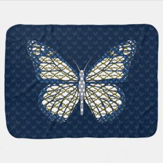 Jewish Monarch Baby Blanket